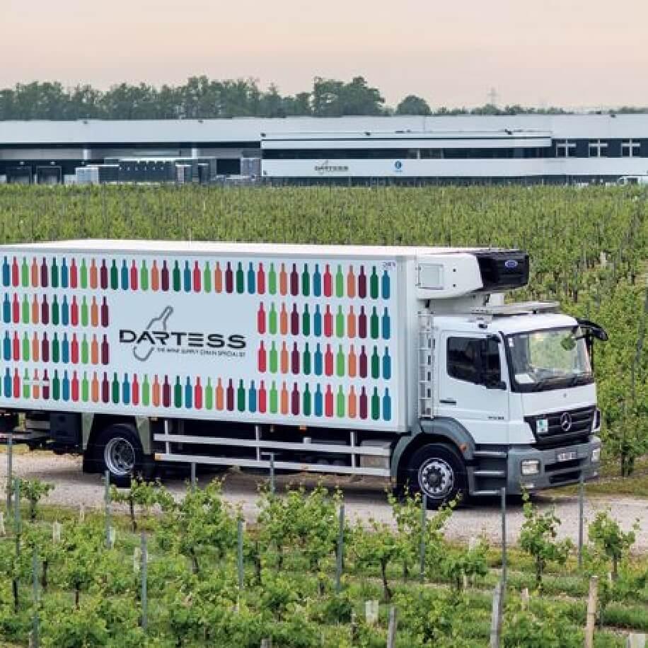 transport climatisé vin spiritueux